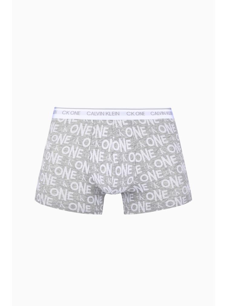 Calvin Klein šedé boxerky Trunk