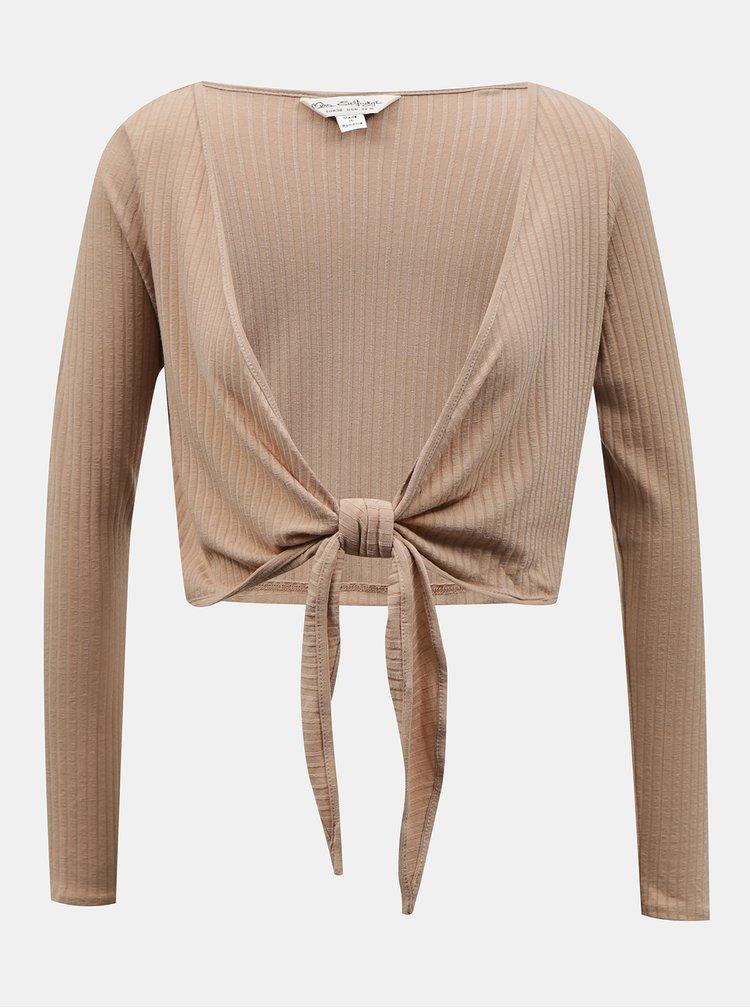 Bluze tip tunica pentru femei Miss Selfridge - maro deschis