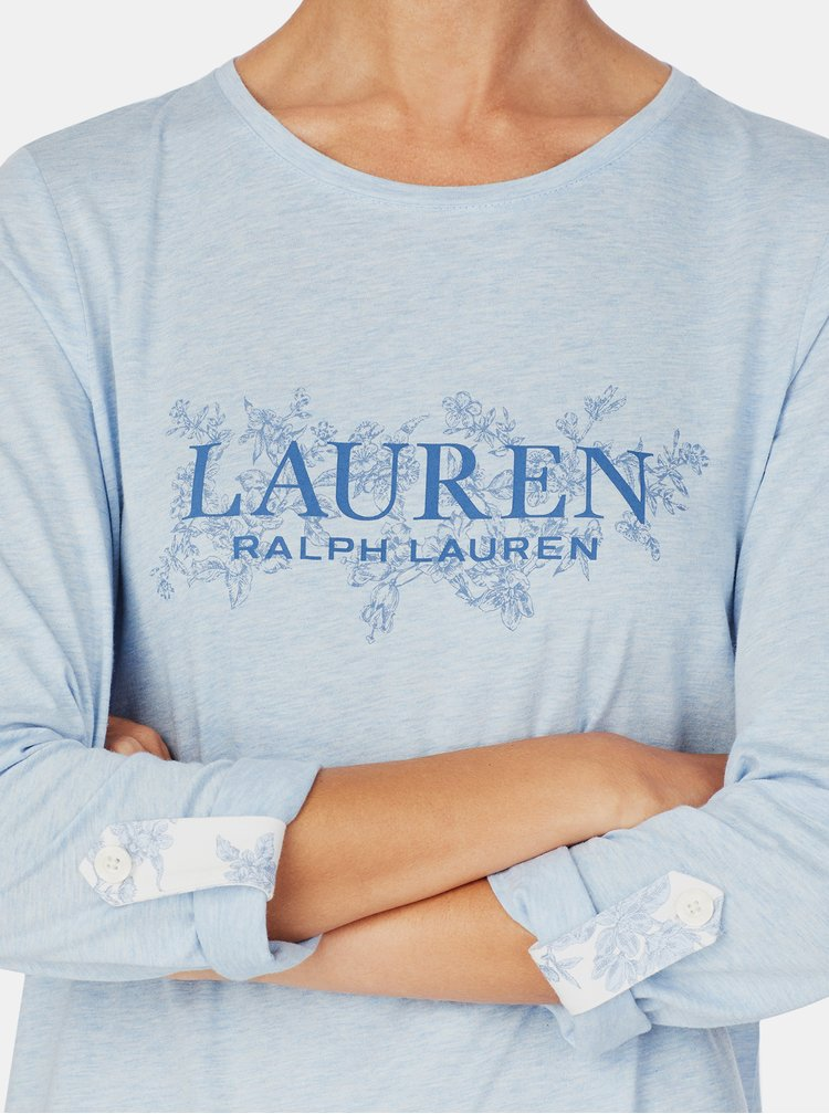 Camasi de noapte pentru femei Lauren Ralph Lauren - albastru