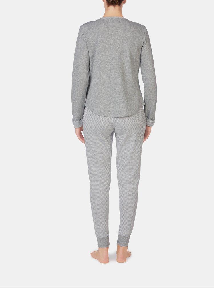 Pijamale pentru femei Lauren Ralph Lauren - gri