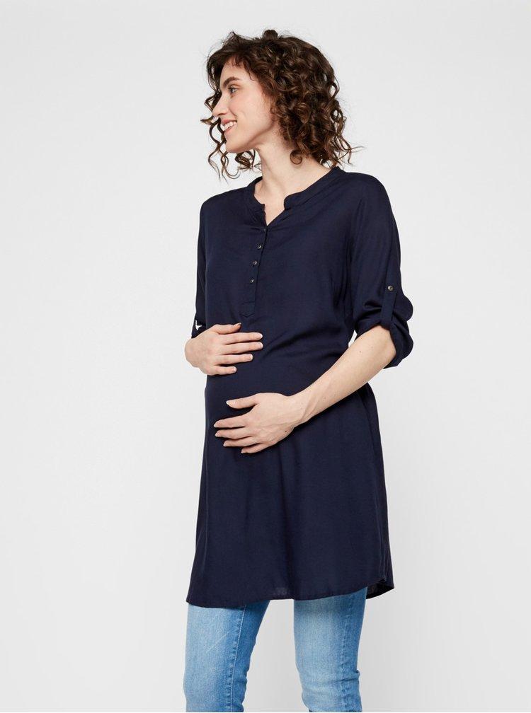 Topuri pentru femei Mama.licious - albastru inchis
