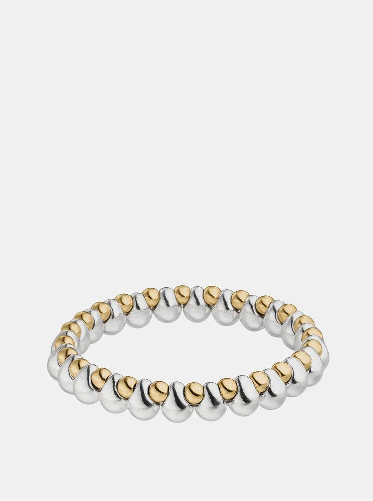 Náramek ve stříbrné a zlaté barvě Tamaris