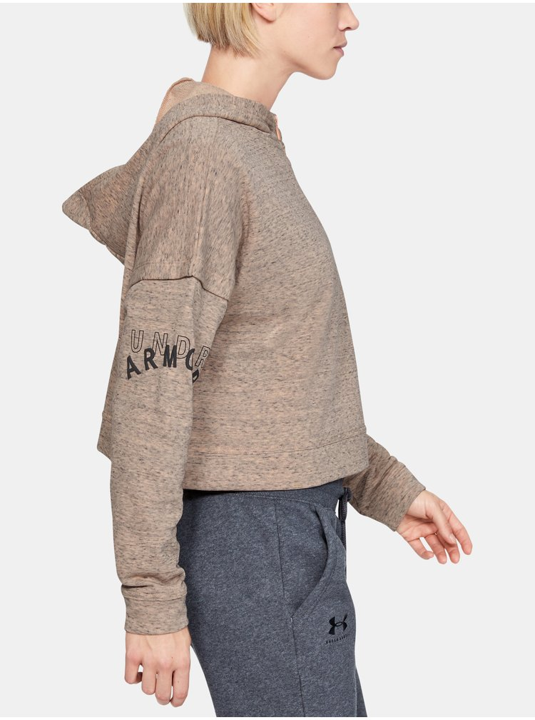 Mikina Under Armour Rival Terry 1 2 Zip Hoodie