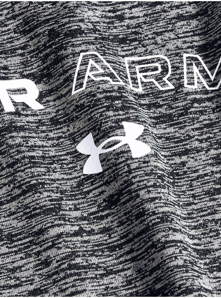 Tričko Under Armour Tech Twist Graphic LU SSC - tmavě šedá