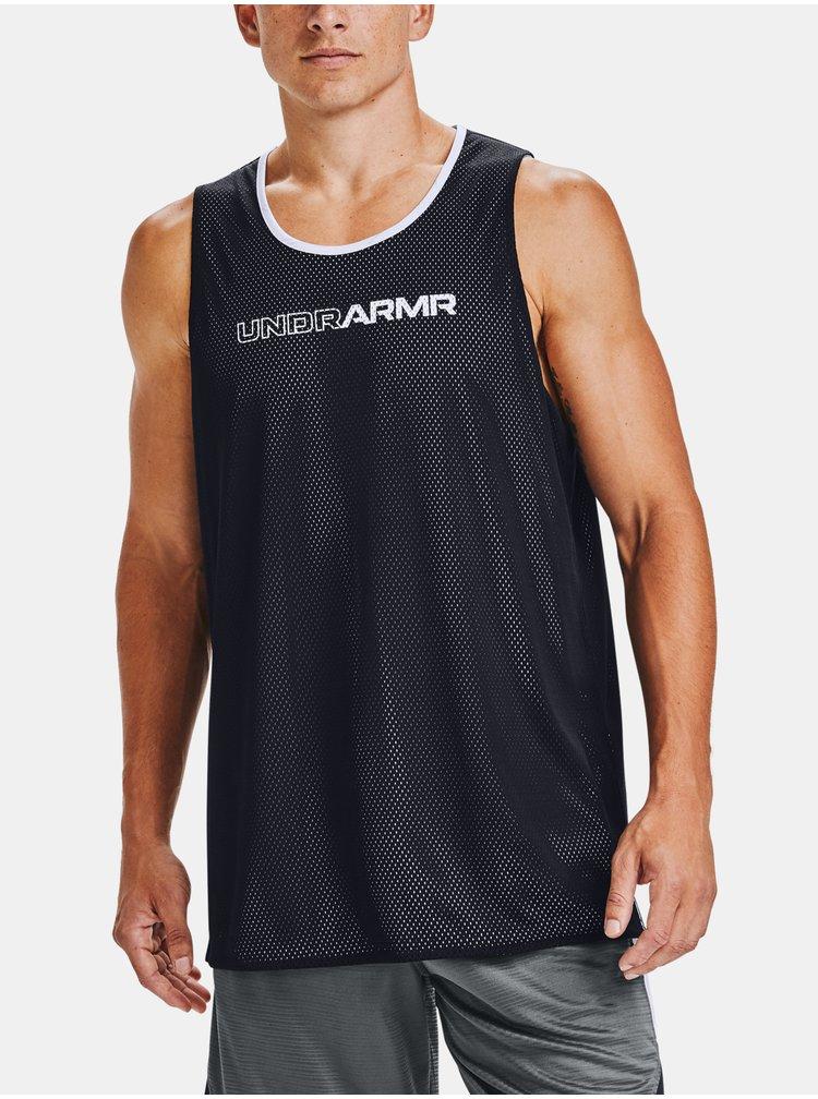 Tílko Under Armour BASELINE REVERSIBLE TANK - černá