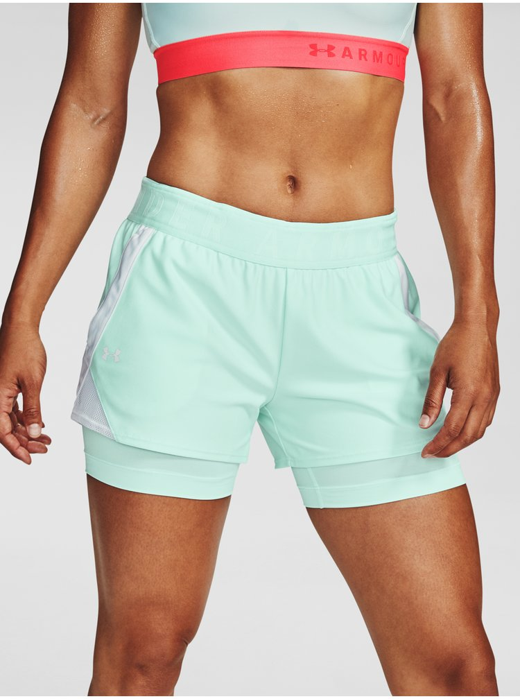 Kraťasy Under Armour Play Up 2-in-1 Shorts-BLU