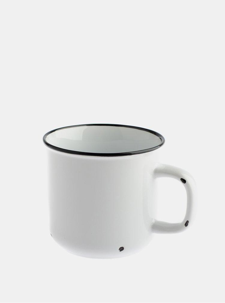 Bílý porcelánový hrnek Dakls 440 ml