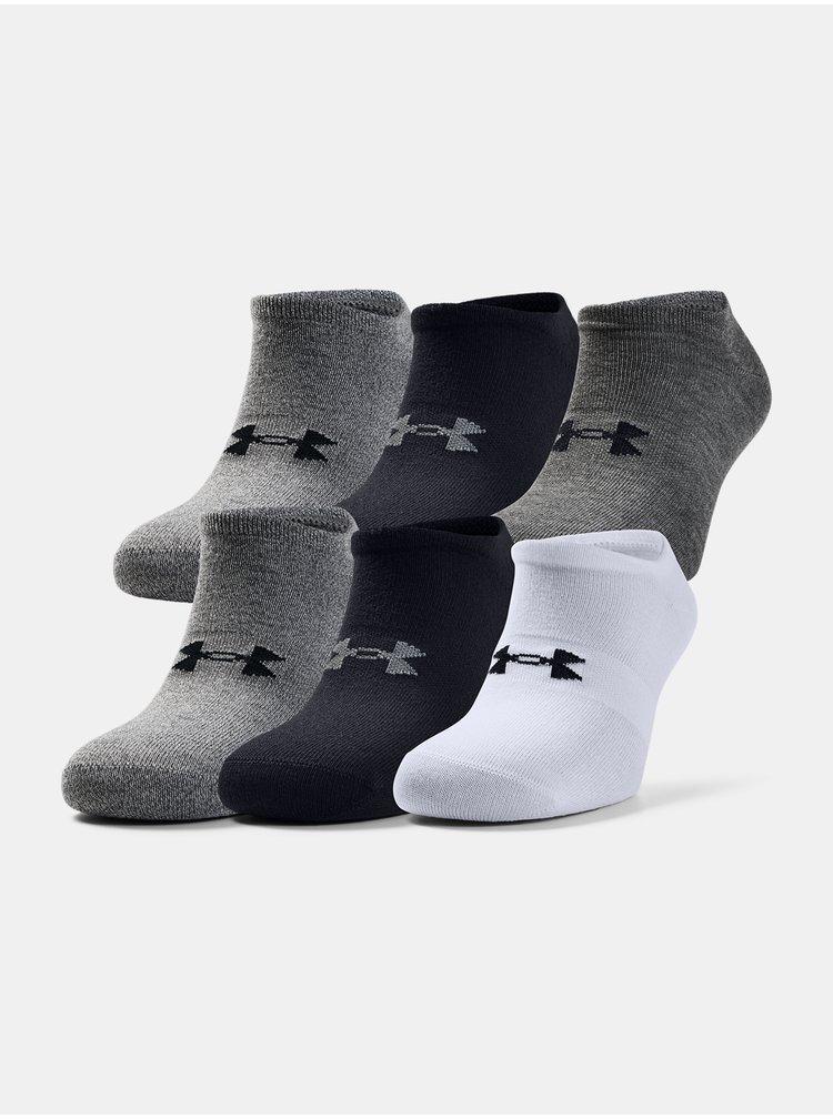 Ponožky Under Armour UA Men's Essentials NS - šedá