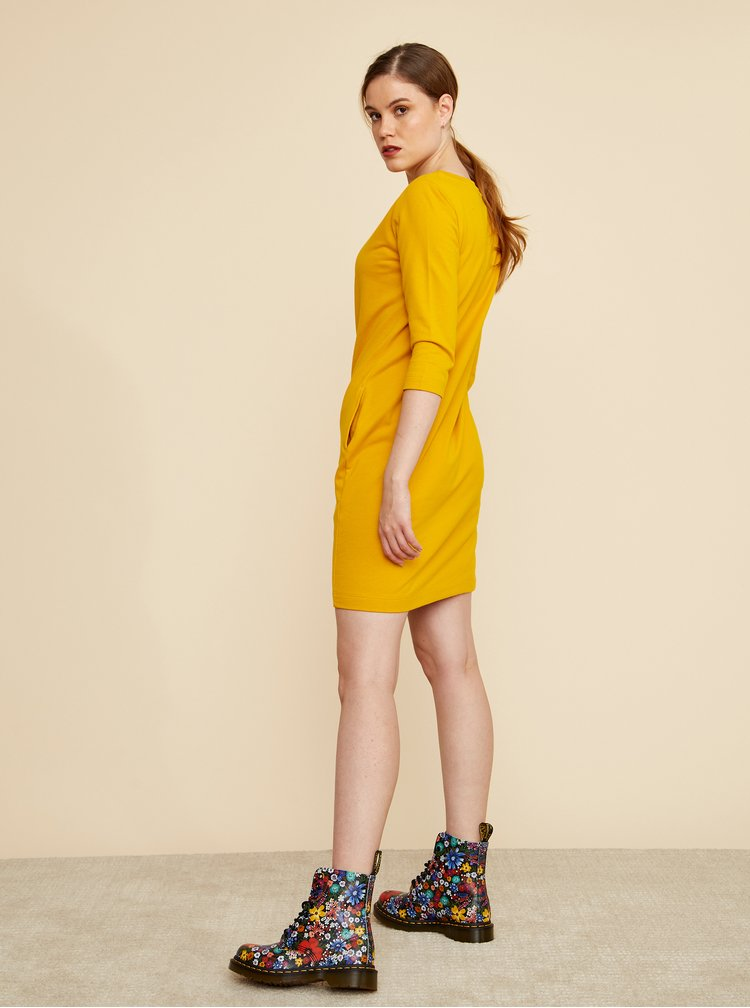 Žluté šaty s kapsami ZOOT Lola 2