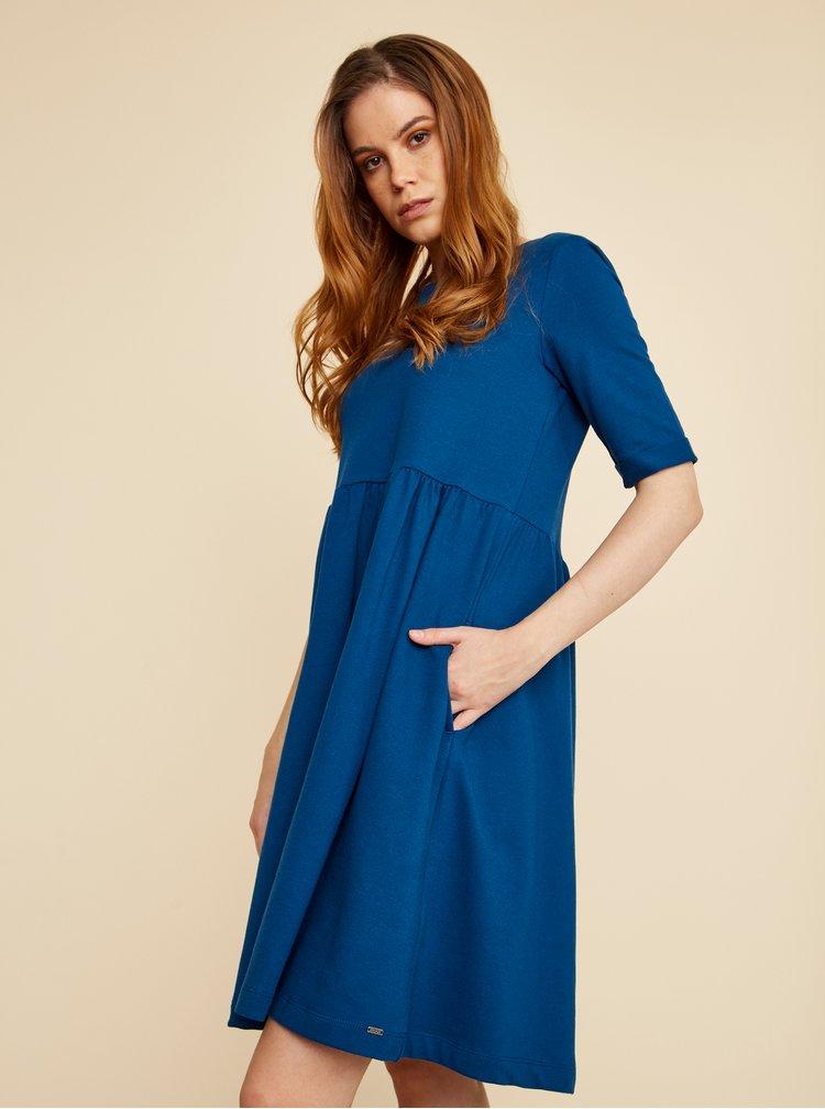 Tmavě modré šaty s kapsami ZOOT Baseline Monika 2