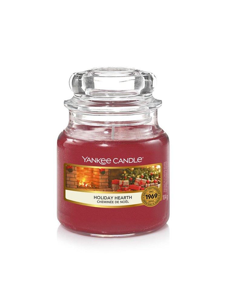 Yankee Candle vonná svíčka Holiday Hearth Classic malá