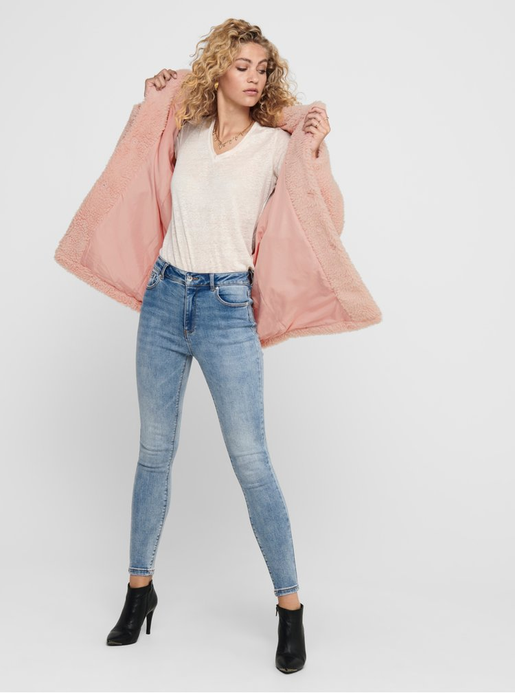 Paltoane  pentru femei ONLY - roz
