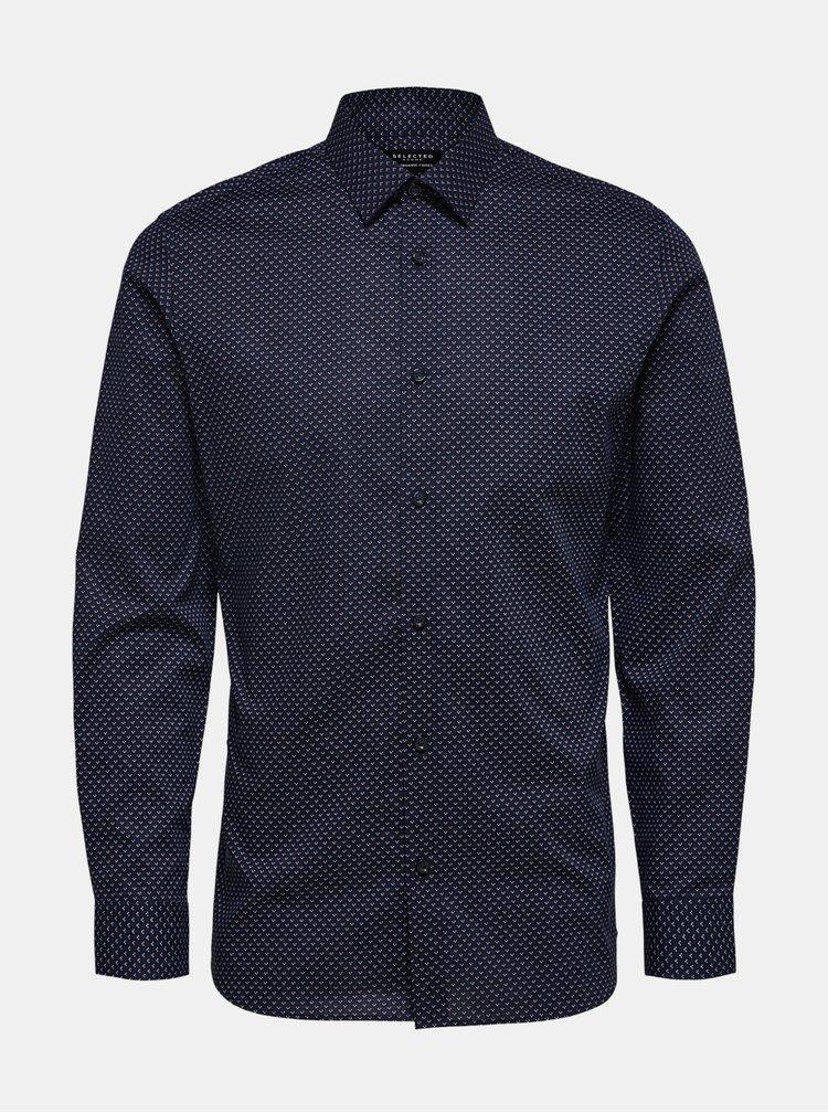 Modrá košile Selected Homme