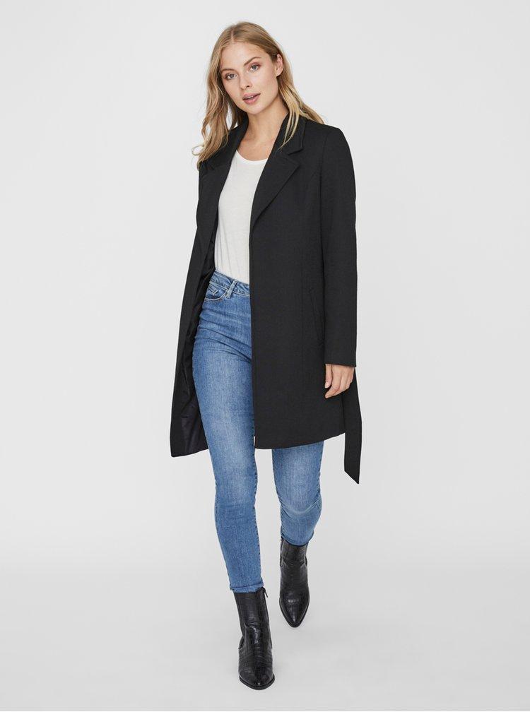 Černý kabát VERO MODA Verodona