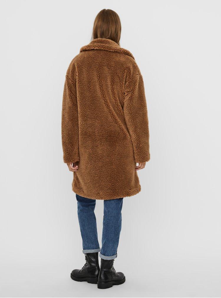 Paltoane  pentru femei VERO MODA - maro