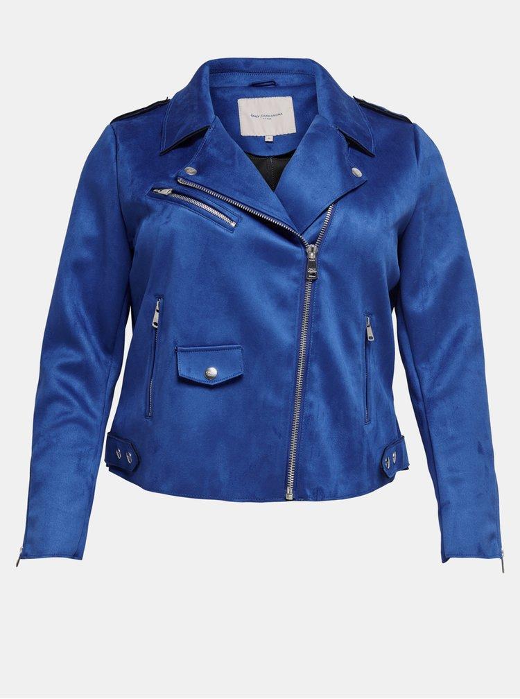 Marimi curvy pentru femei ONLY CARMAKOMA - albastru