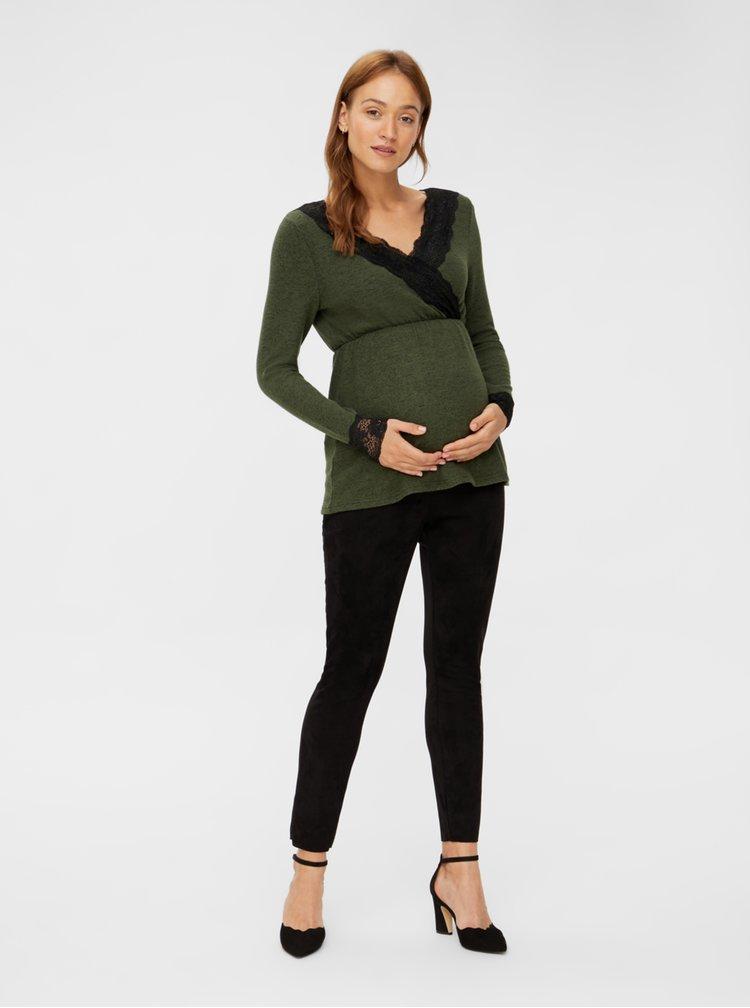 Bluze pentru femei Mama.licious - verde
