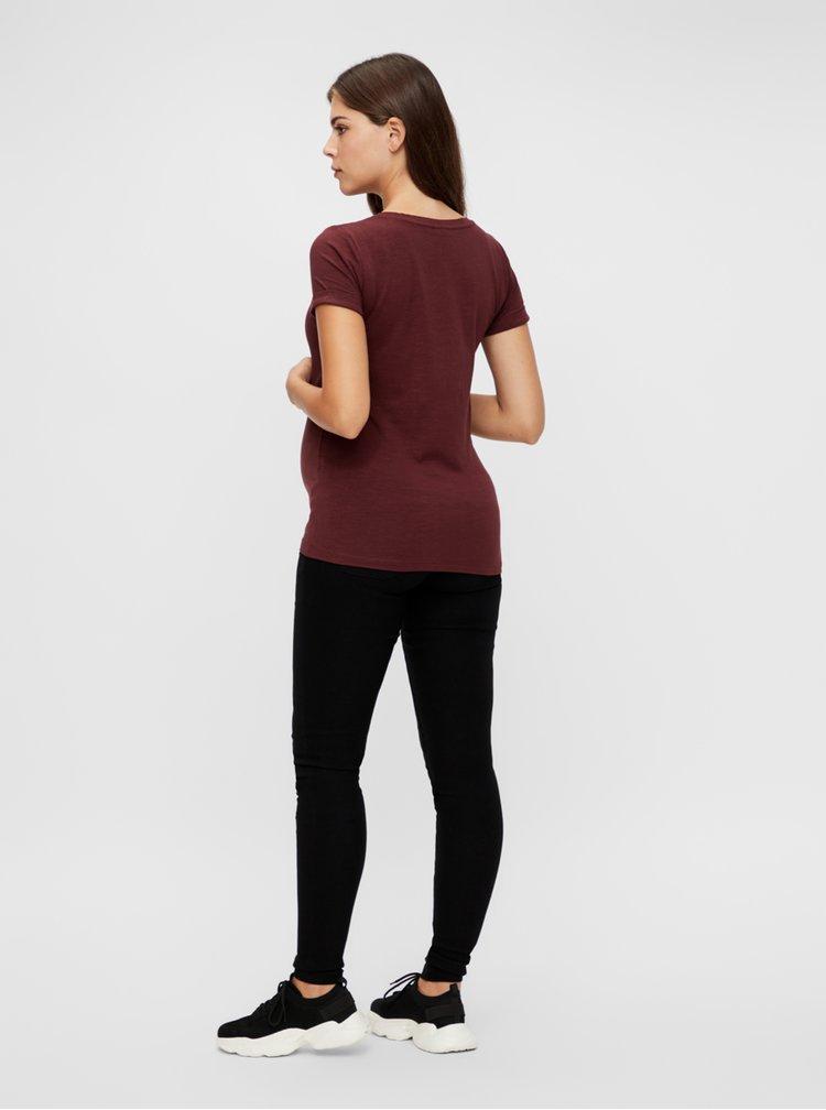 Tricouri pentru femei Mama.licious - maro