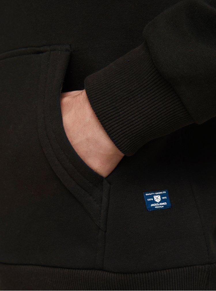 Pulovere cu gluga pentru barbati Jack & Jones - negru