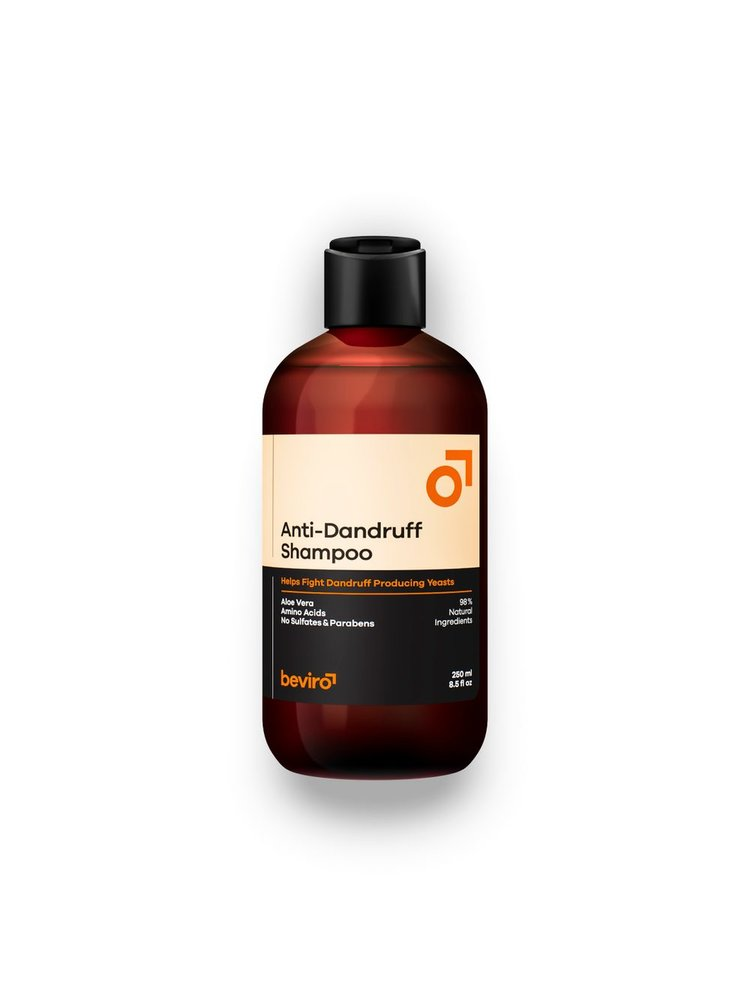Beviro Přírodní šampon Proti lupům - 250 ml