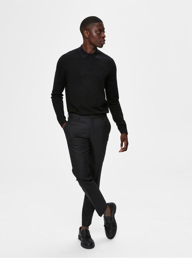 Pulovere pentru barbati Selected Homme - negru