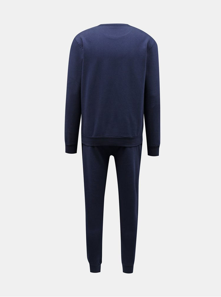 Pijamale pentru barbati FILA - albastru inchis