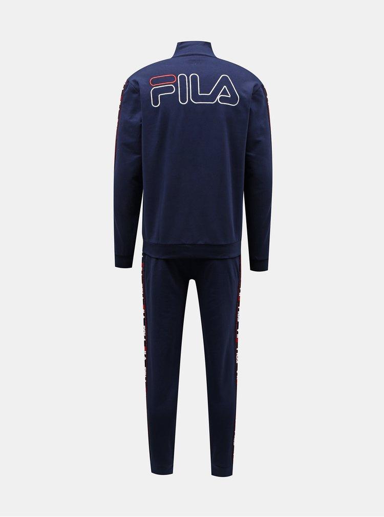 Pantaloni sport si de casa pentru barbati FILA - albastru inchis
