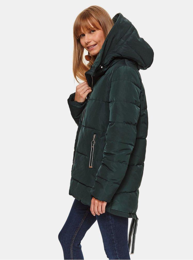 Geci de iarna pentru femei TOP SECRET - verde