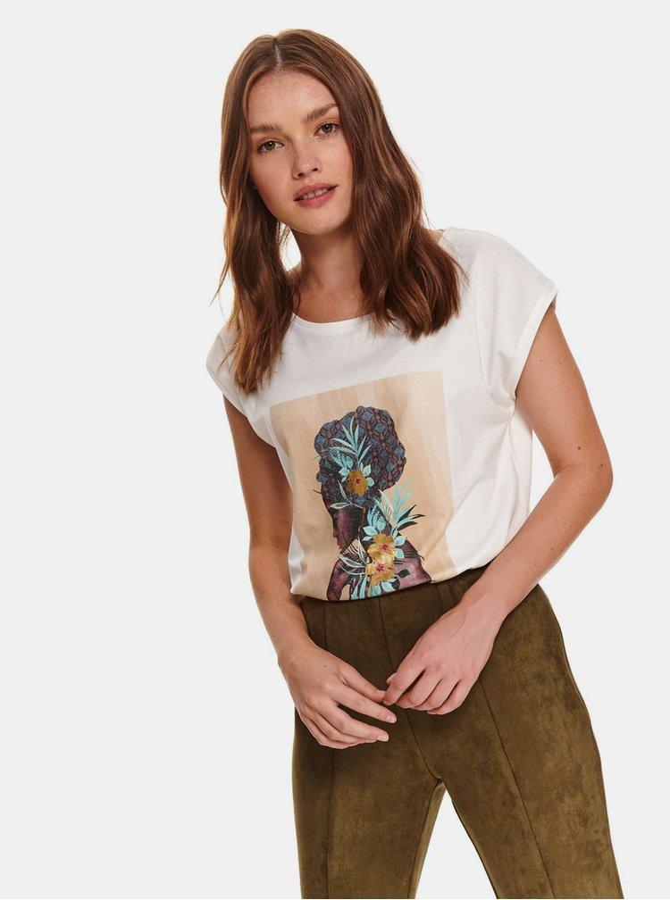 Tricouri pentru femei TOP SECRET - alb