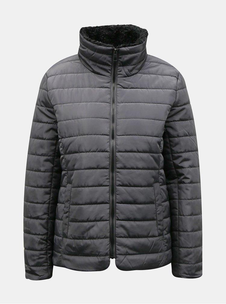 Černá dámská zimní prošívaná bunda ZOOT Baseline Daisy