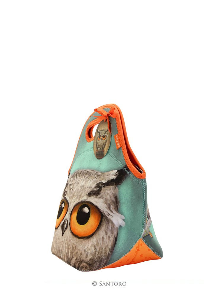 Santoro neoprenová taška Book Owls