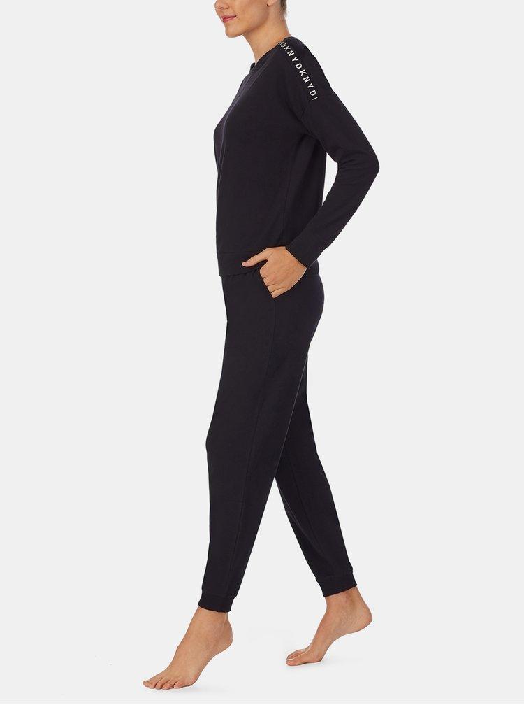 Pijamale pentru femei DKNY - negru