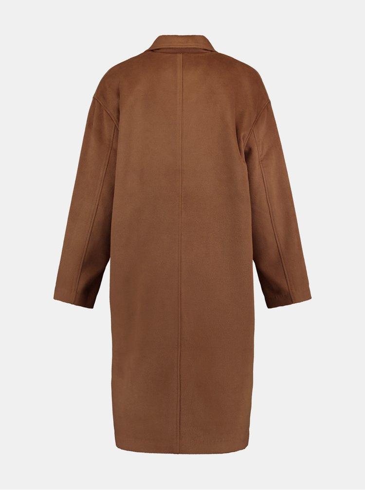 Trenciuri si paltoane subtiri pentru femei Hailys - maro