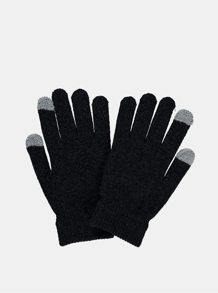 Černé rukavice Hailys