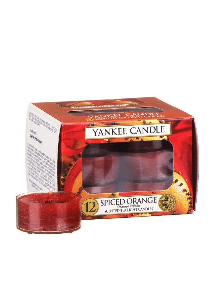 Yankee Candle vonné čajové svíčky Spiced Orange