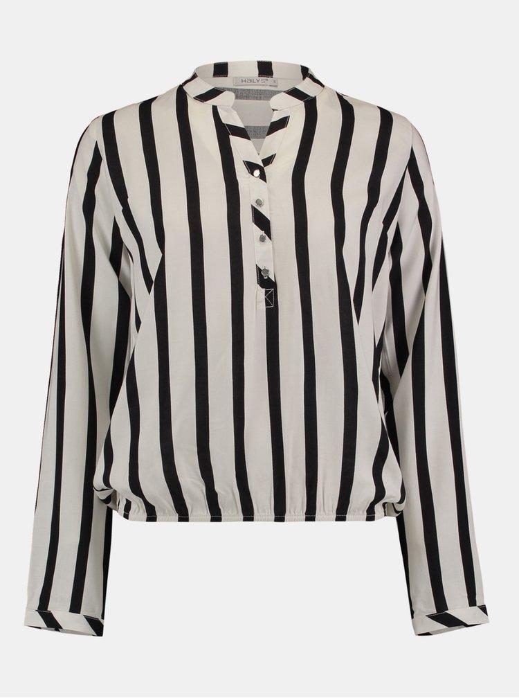 Topuri pentru femei Hailys - alb, negru
