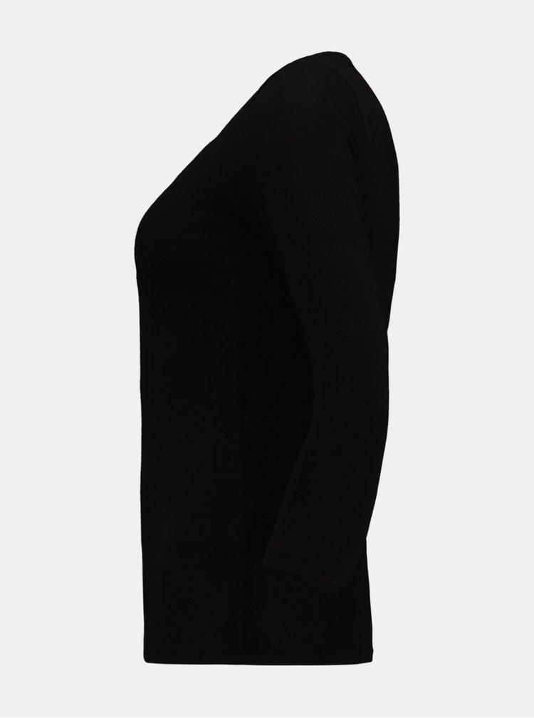 Černé tričko Hailys