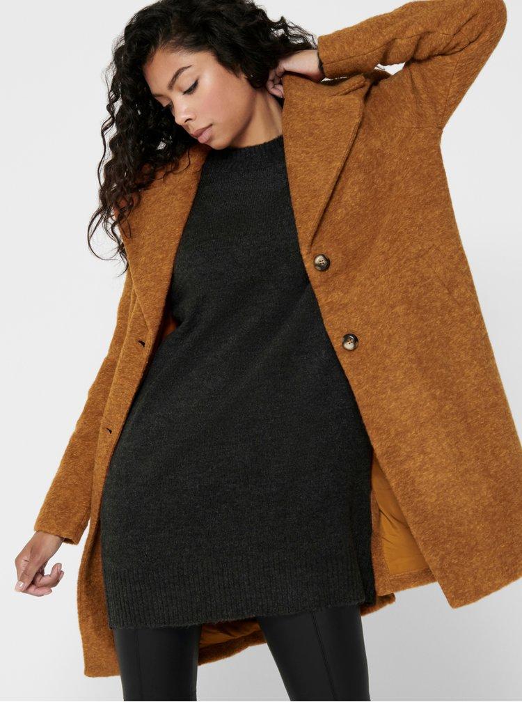 Paltoane  pentru femei ONLY - maro