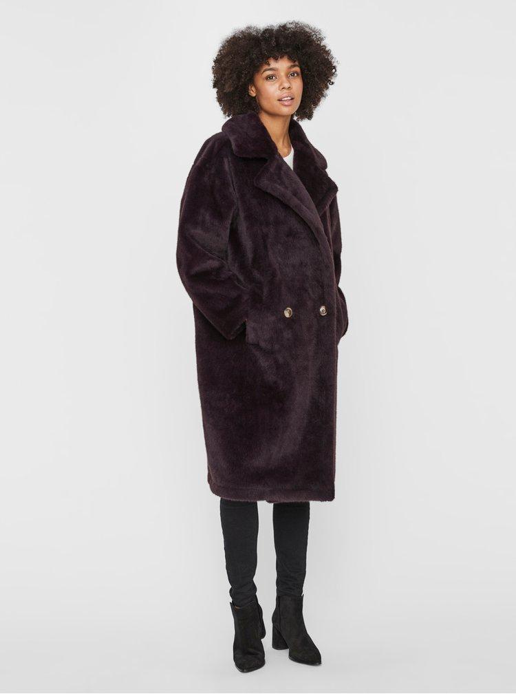 Paltoane  pentru femei VERO MODA - maro inchis