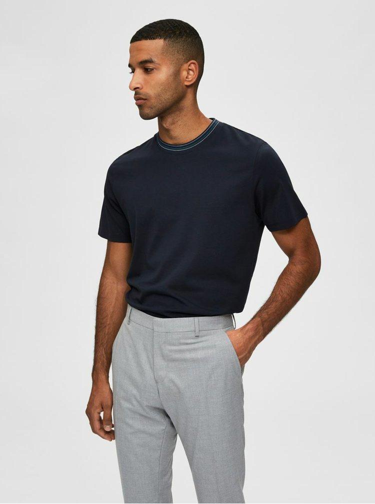 Topuri pentru barbati Selected Homme - albastru inchis