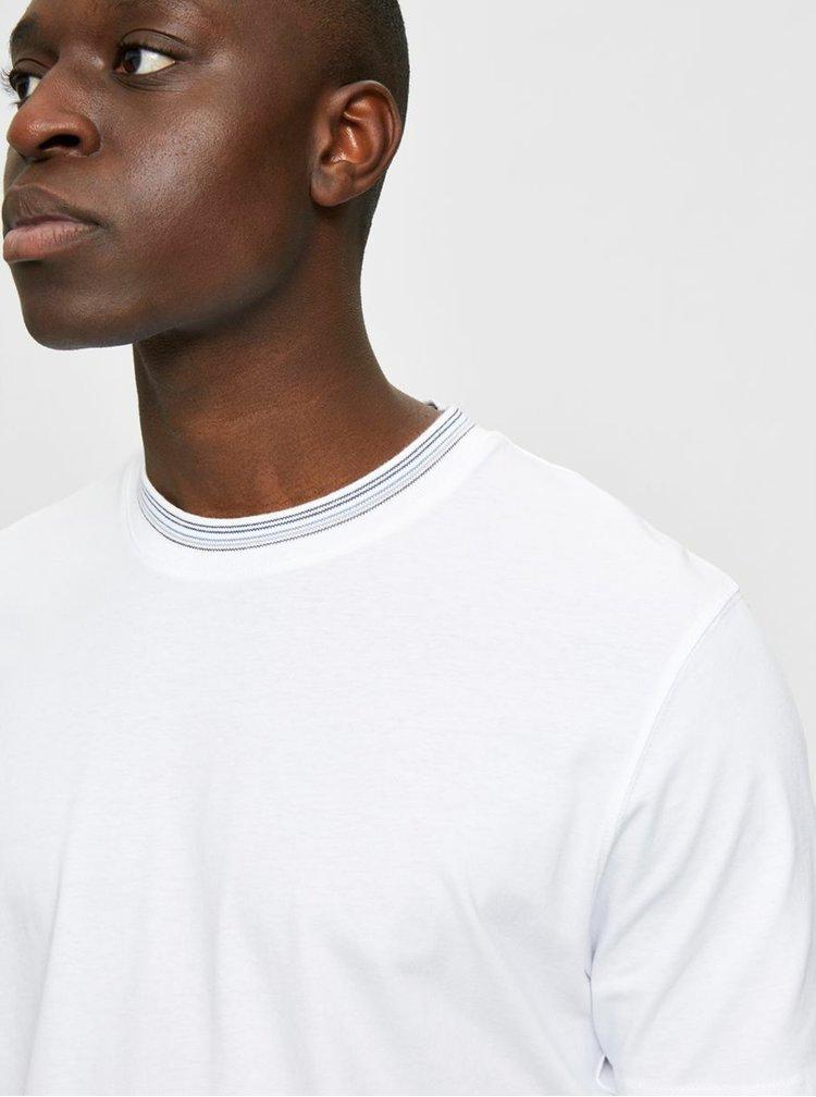 Topuri pentru barbati Selected Homme - alb