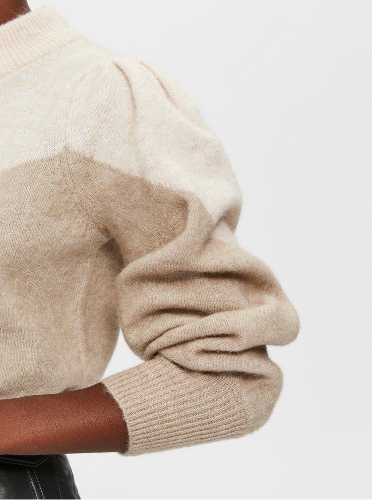 Pulovere pentru femei Selected Femme - bej