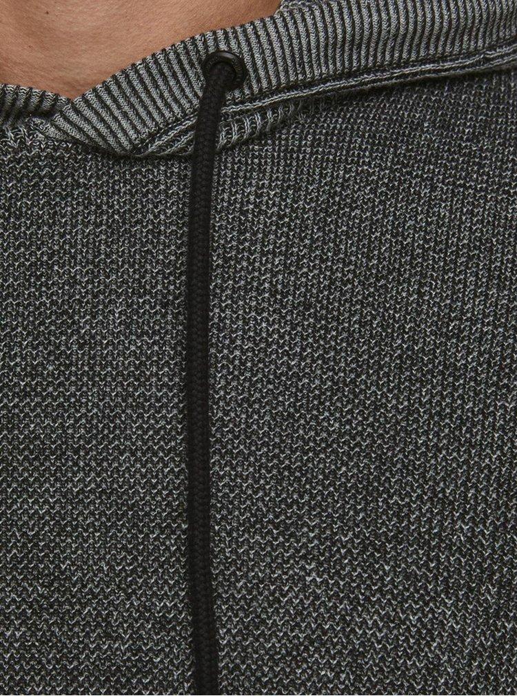 Pulovere cu gluga pentru barbati Jack & Jones - gri inchis