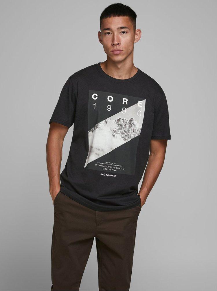 Tricouri pentru barbati Jack & Jones - negru