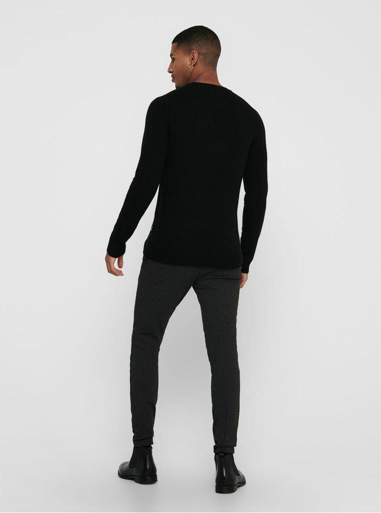 Pulovere pentru barbati ONLY & SONS - negru