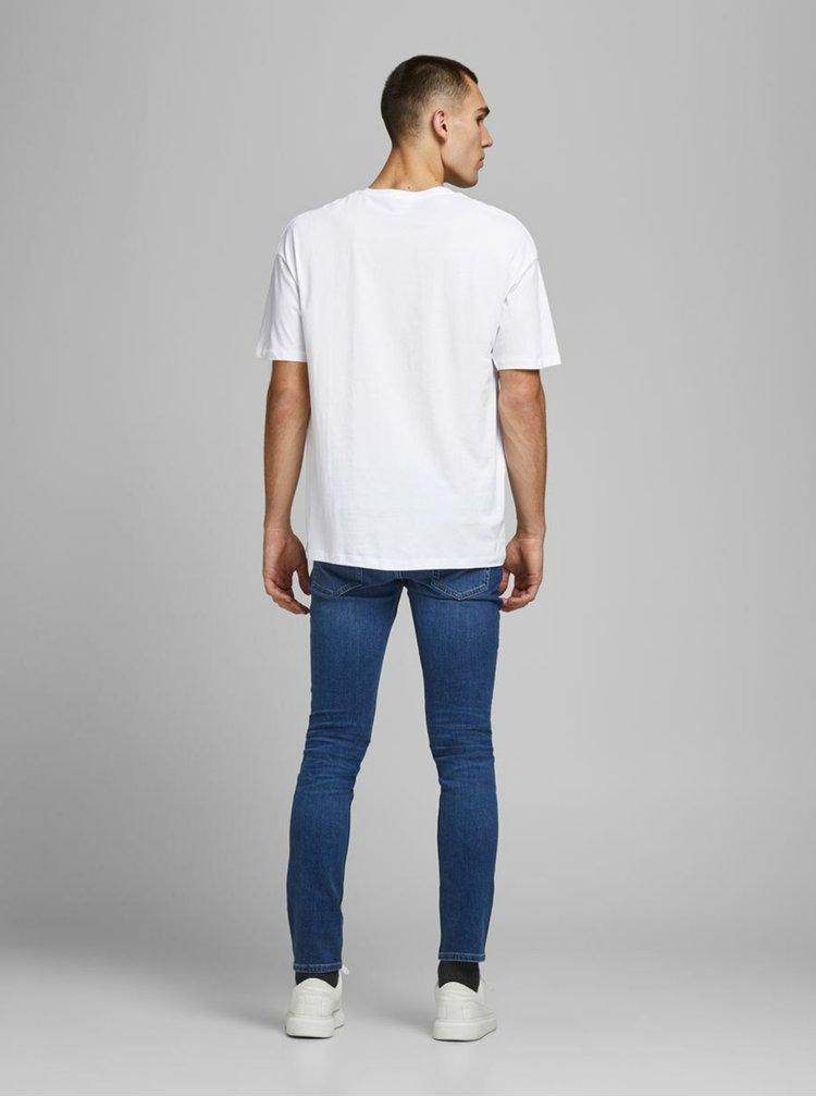 Bílé tričko Jack & Jones