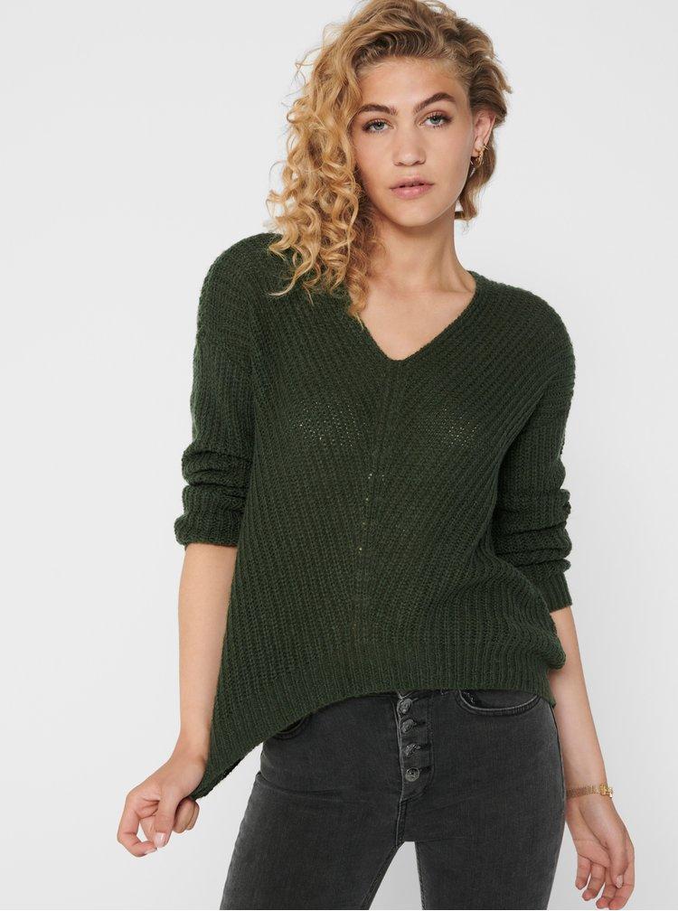 Pulovere pentru femei Jacqueline de Yong - verde inchis