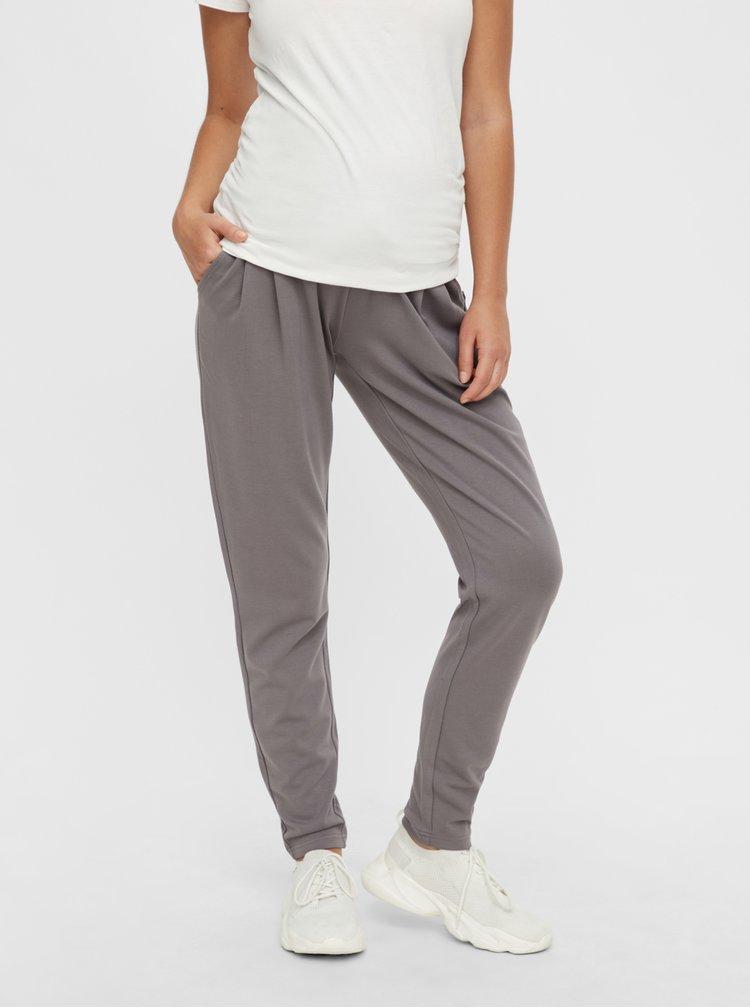 Pantaloni sport pentru femei Mama.licious - gri