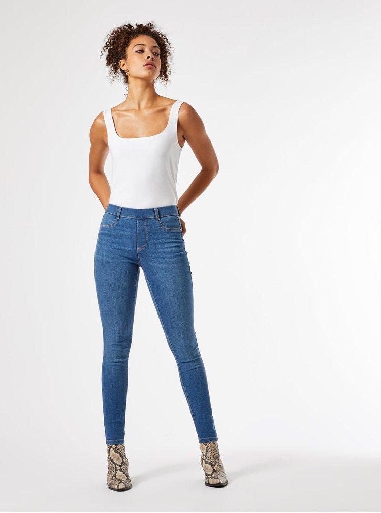 Modré skinny fit džíny Dorothy Perkins Tall