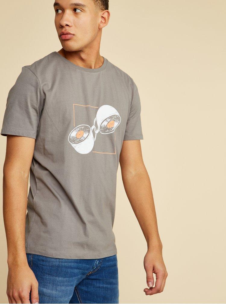 Tricouri pentru barbati ZOOT - gri